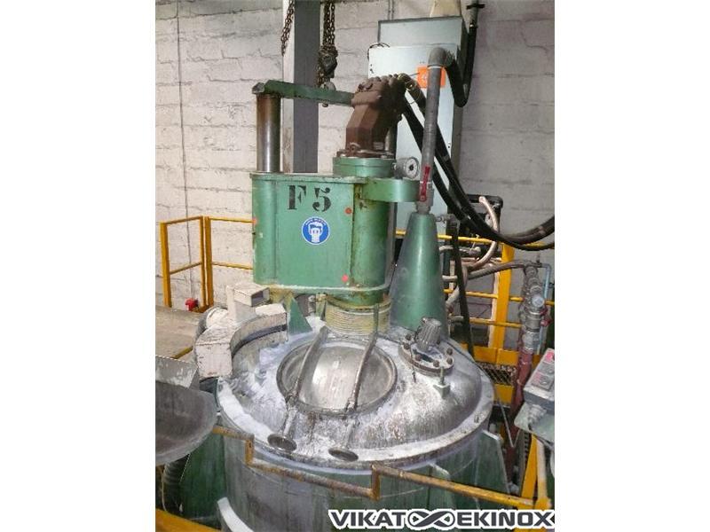 Cuve de fabrication inox 1500 litres sur pesons vikat ekinox for Fabrication inox