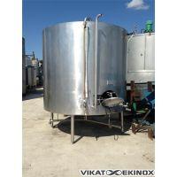 Cuve inox 7500 litres, double enveloppe