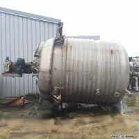 Réacteur inox 316L demi-coquille 23600 L
