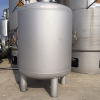 Cuve inox verticale 5000 litres