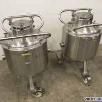 Cuve inox 316L PACKO 60 litres