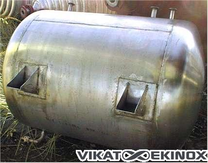 Stainless steelTank of approx.700 L