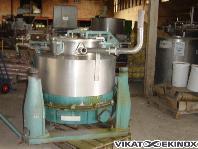 Bâti de décanteuse centrifugeROUSSELET RAPID DSC 85*