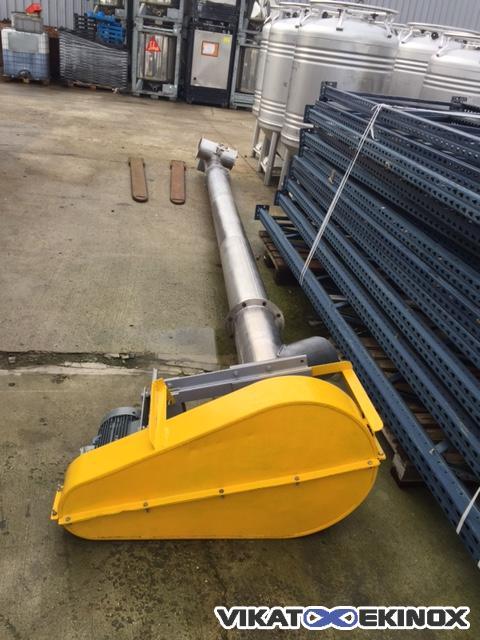 Stainless steel screw, tube, diam.210 Length (…)