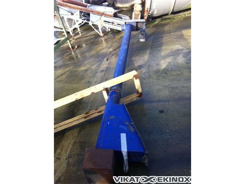 tube screw Length 3900 mm, mild steel