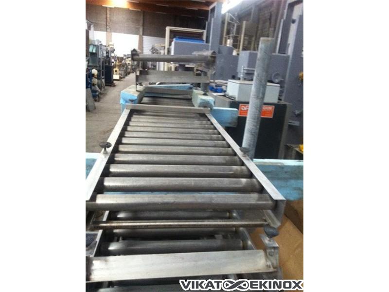 s.s. roller conveyor L 1435 mm