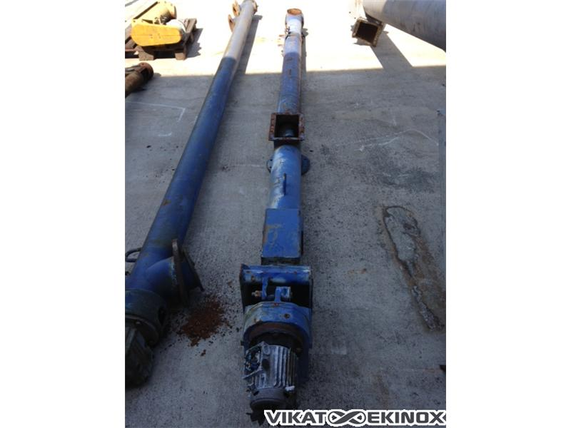 Steel screw, tube, L 3000 mm