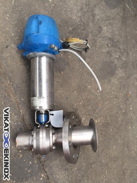 GEA T-smart pneumatic valven DN 50