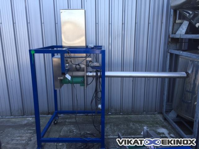 Stainless steel auger filler for powder