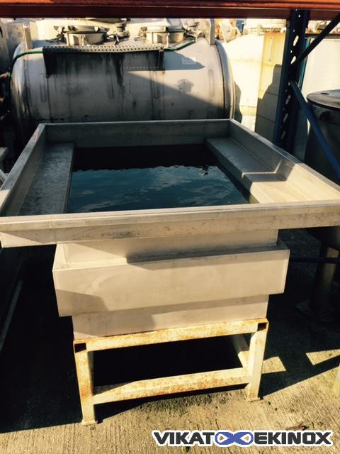 Washing tank with extension