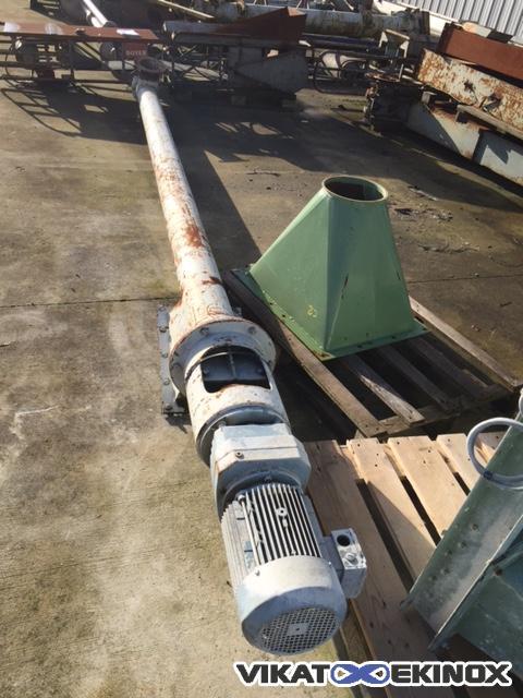 Steel screw Length 3800mm