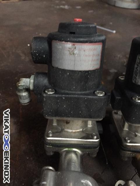 GEMU pneumatic control diaphragm valve DN 15