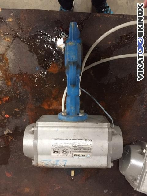 AIR TORQUE butterfly valve DN 40, with pneumatic actuator