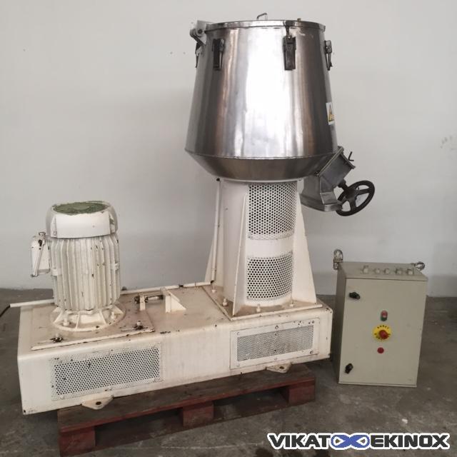 Moritz stainles steel mixer 130 litres