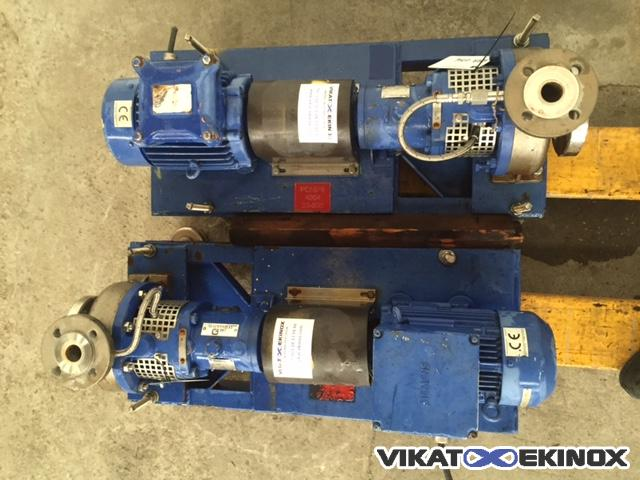KSB stainless steel pump model CPKN-C1 10m3/h