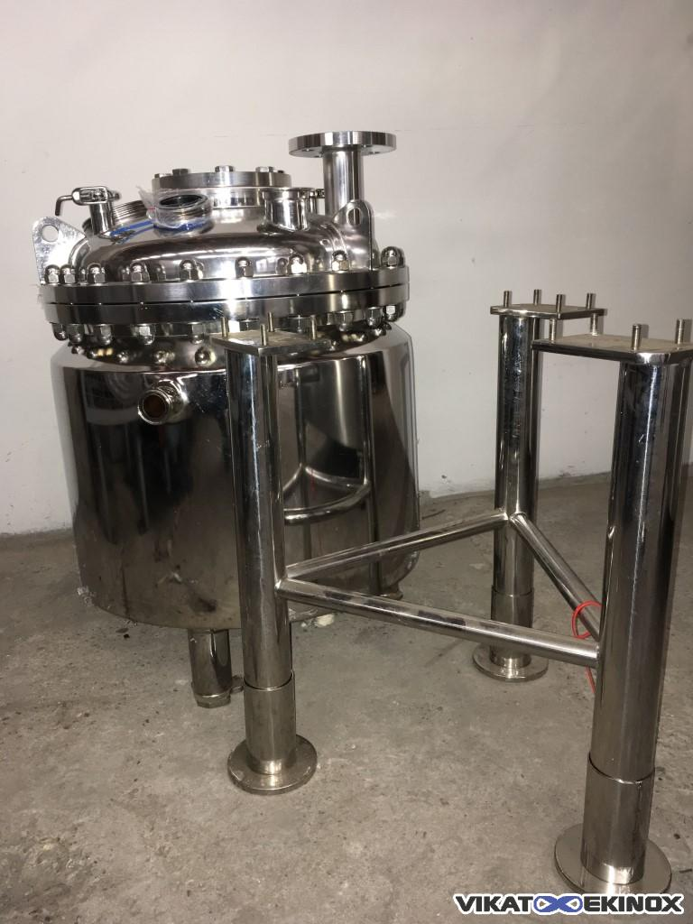 Jacketed stainless steel tank 90 litres