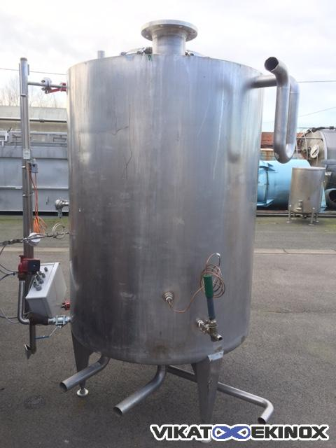 Stainless steel tank 1750L