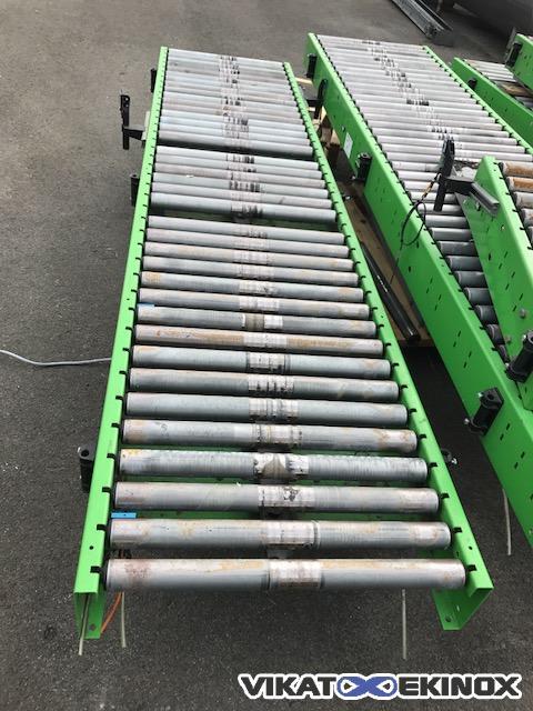 Roller conveyor Length 3000 mm