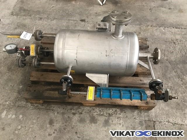 50 L stainless steel tank
