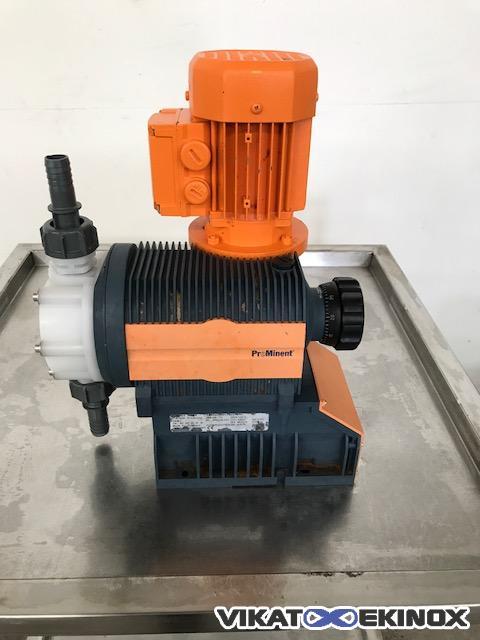 ProMinent Sigma metering pump 140L/h type S1BAH04120 | Vikat Ekinox