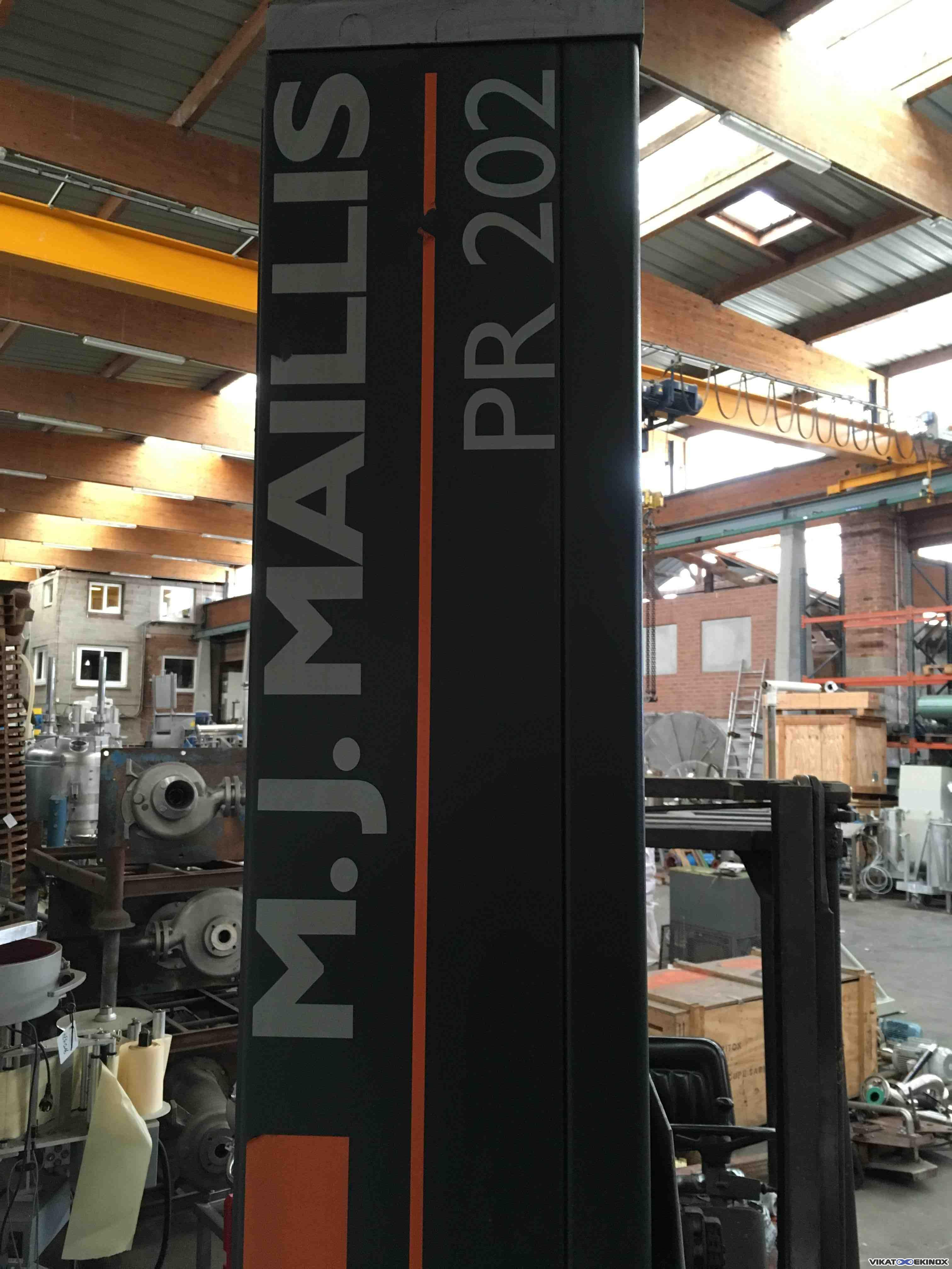 Siat Pallet Strech Wrapper M J Maillis Pr202 Type Sw2l