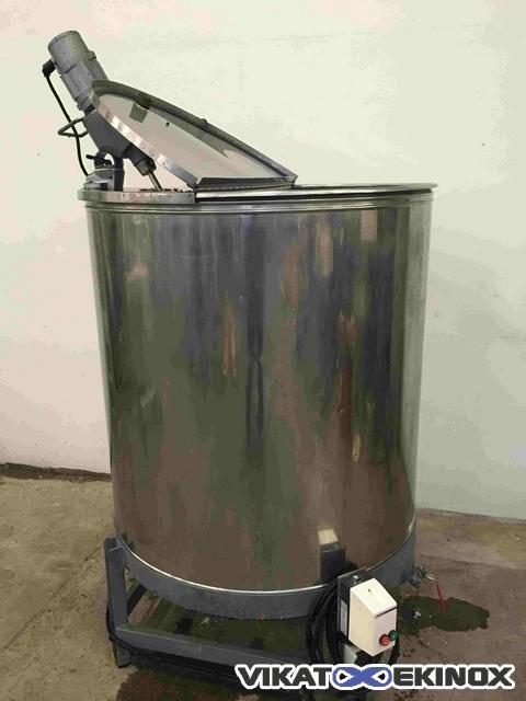 Agitated st steel tank 1200 litres vikat ekinox 1 ccuart Choice Image