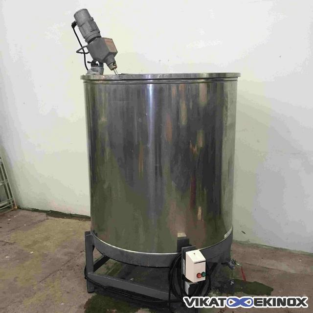 Agitated st steel tank 1200 litres vikat ekinox agitated st steel tank 1200 litres ccuart Choice Image