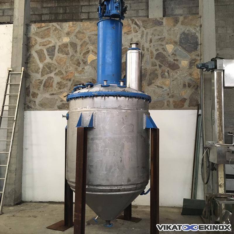 St. steel reactor 3000 litres