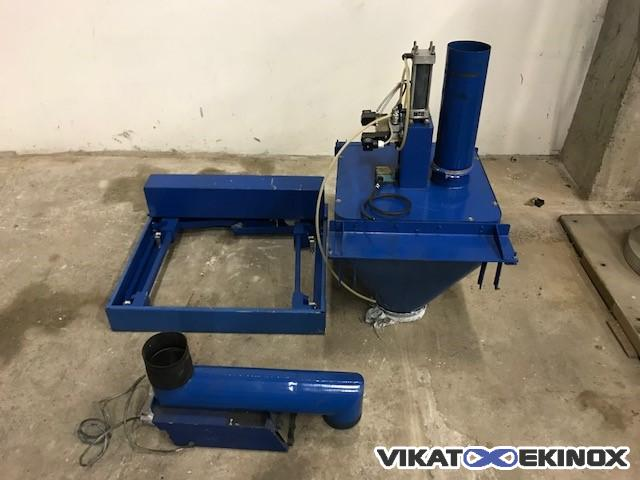 Dosing system with vibratory feeder 1 to 20 kg