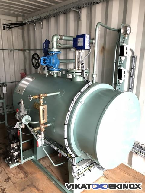 Barata Electric Steam Generator Type Ehbp 100 Kw