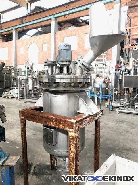 S/S agitated reactor 170 litres