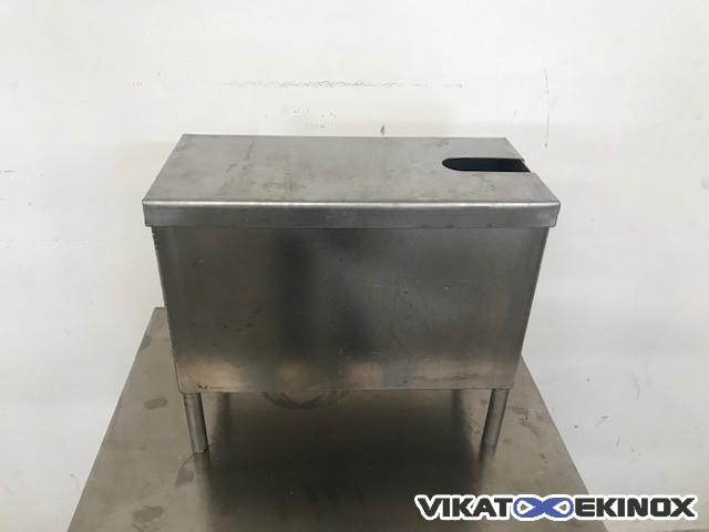Stainless steel rectangular tank