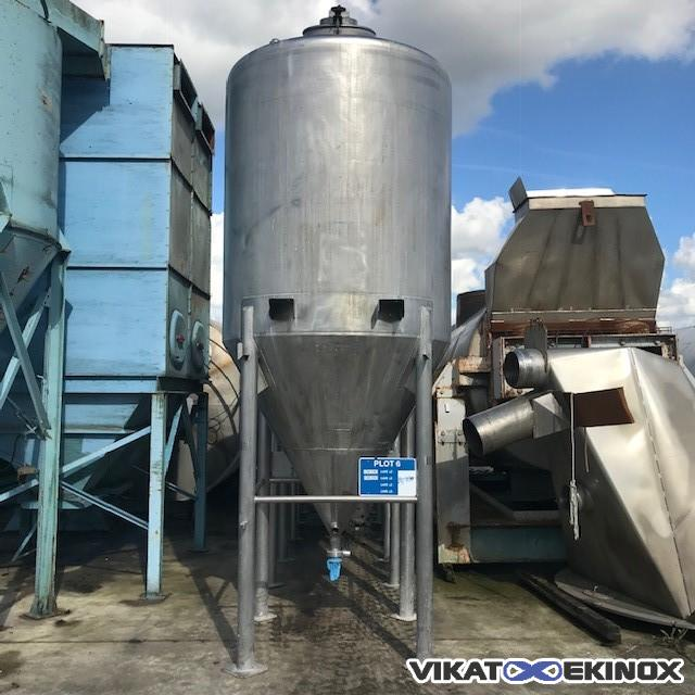 Stainless steel tank 4480 litres