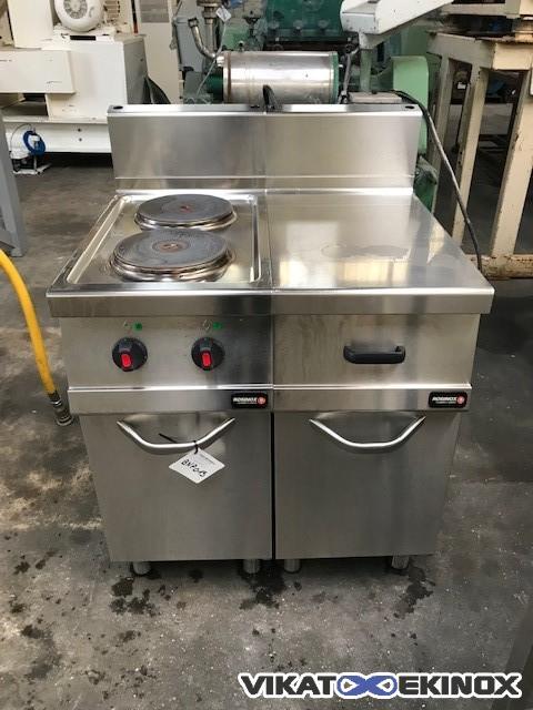Rosinox 2 hobs cooker