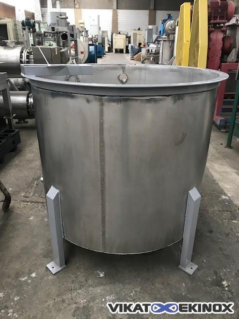 Stainless steel tank 1000 litres