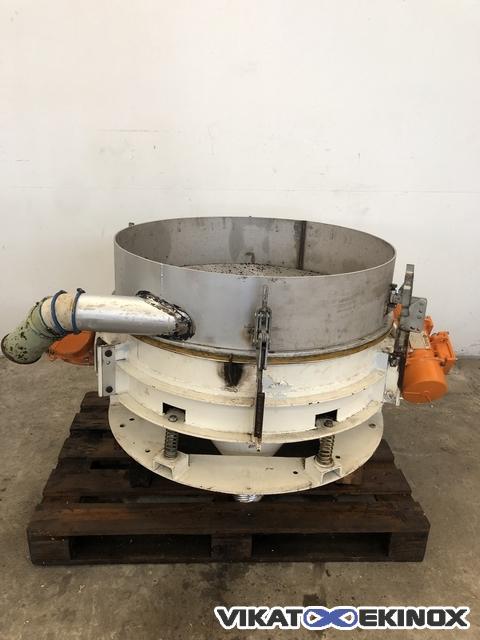 Vibrating sieve Ø 850 mm