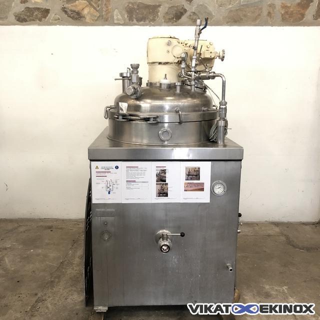 BECOMIX RW250 vacuum mixer homogenizer