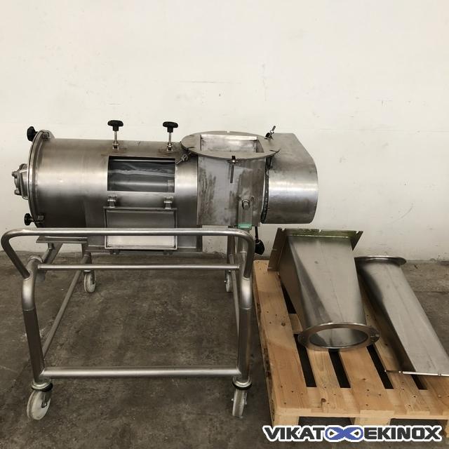 AZO St. steel centrifuge screen type E450