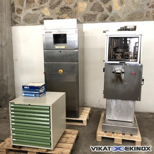 PR20 SVIAC tablet press