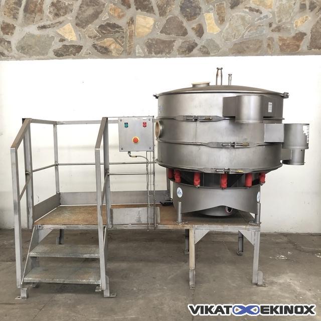 SWECO vibratory separator Ø 1200 mm 2 decks