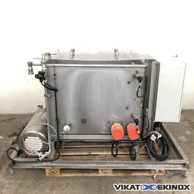 S/S heated wash tank