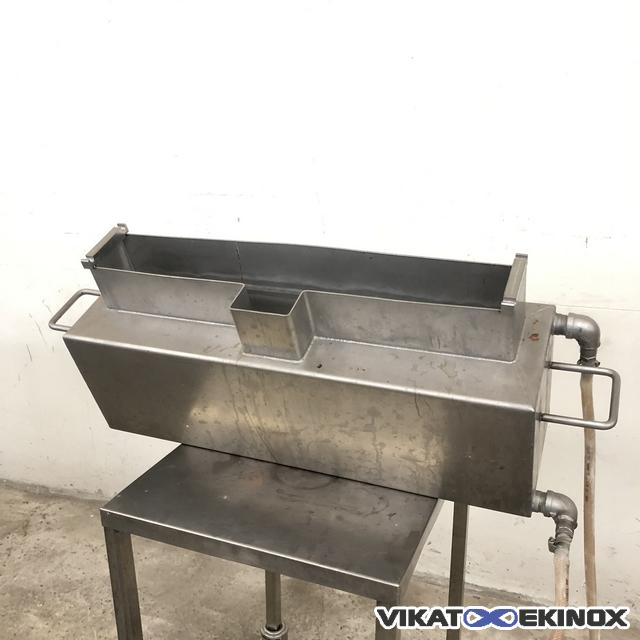 Jacketed S/S vat 25L