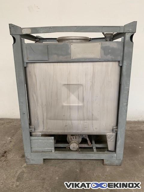 Umformtechnic S/S container 1000L