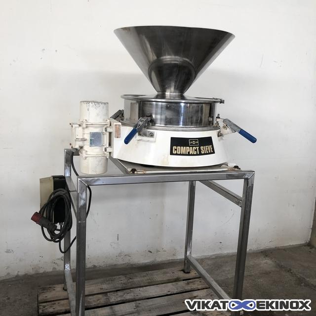 Ø 600 mm RUSSEL COMPACT 600 modèle 17240 LD EP sieving machine