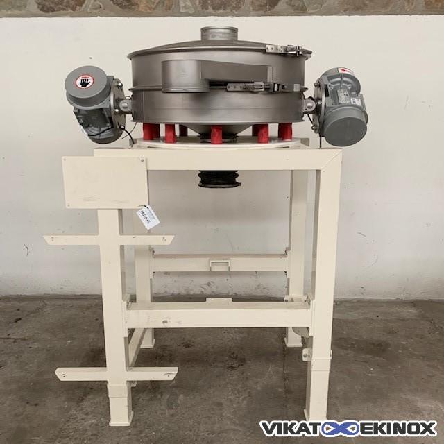 SWECO vibrating separator Ø 1000 mm – Type LP60S66+C