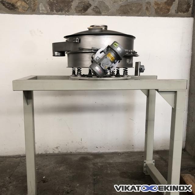 Vibrating separator Ø 760 mm SWECO type LP30S66+C