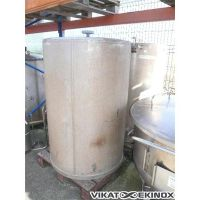 Stainless steel vertical Tank 600 L