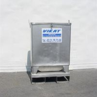 Stainless steel container, 150 liters