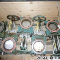 kNIFE GATE VALVE DN 150 mm