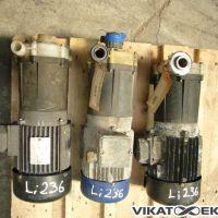 Pump housing: PVDF  12m3/h